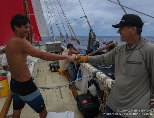"""Legendary Polynesian Sailing Canoe """"Hokulea"""" Lands in Cuba"""